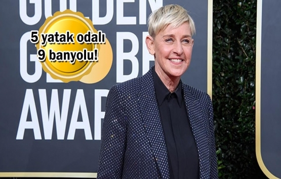 Ellen DeGeneres Beverly Hills'teki malikanesini 47 milyon dolara sattı!