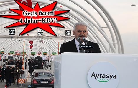 Avrasya Tüneli açıldı!