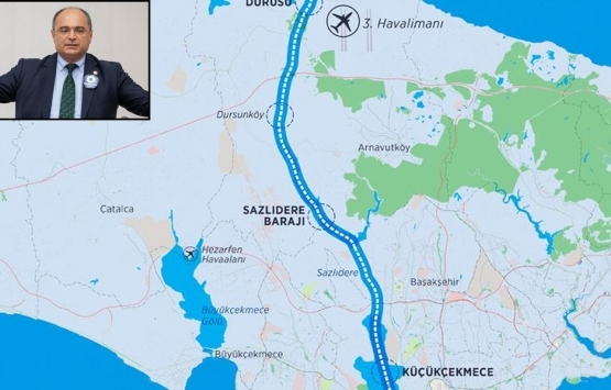 Kanal İstanbul güzergahındaki 40 milyon metrekare arazi el değiştirdi iddiası!