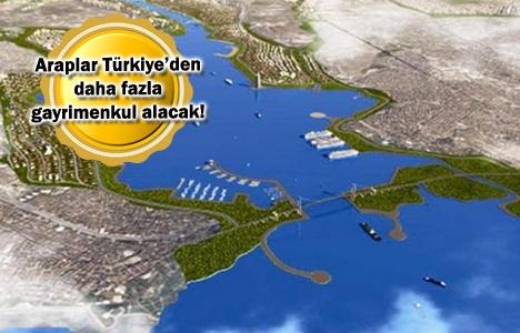 Araplar, Kanal İstanbul'a