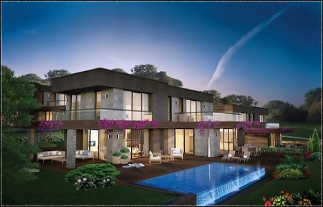 Hezarfen Villaları'nda 1 milyon 50 bin TL'ye! Yeni proje!
