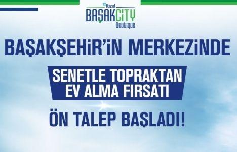 Başakşehir'in merkezinde senetle