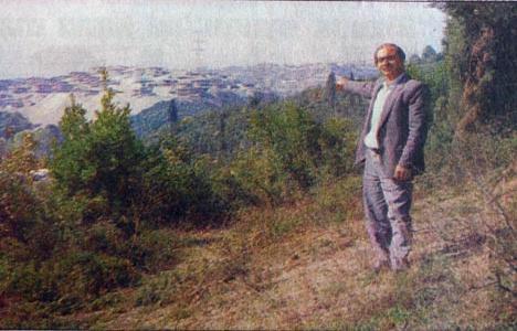 1989 yılında Boğaziçi'nde,