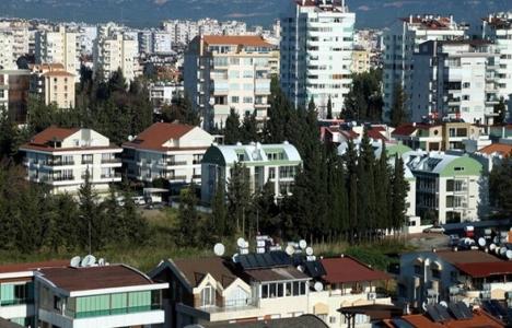Antalya'da gayrimenkul sektörü