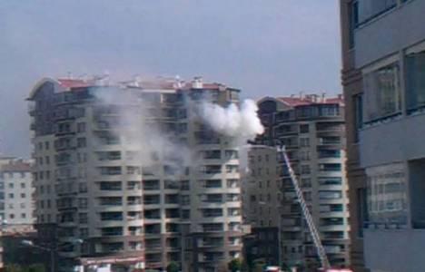 Ankara Ant Prestij Sitesi'nde yangın çıktı!