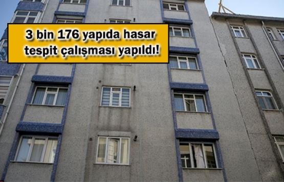 İstanbul'da 77 binada ağır hasar tespit edildi!