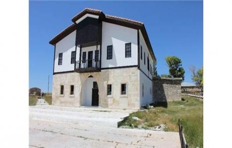 Sivas Mihrali Bey Konağı'nın restorasyonu tamamlandı!