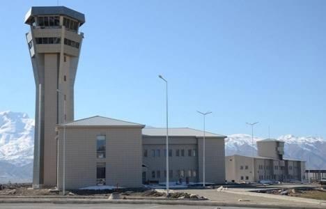 Hakkari Yüksekova Havalimanı açıldı!