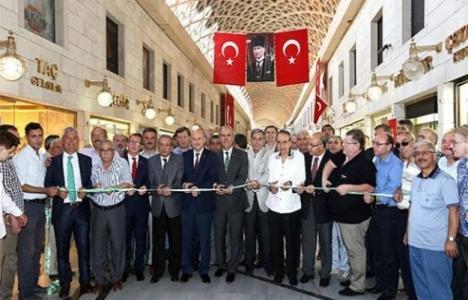 Bursa Kapalı Çarşı yeni haliyle hizmeye açıldı!