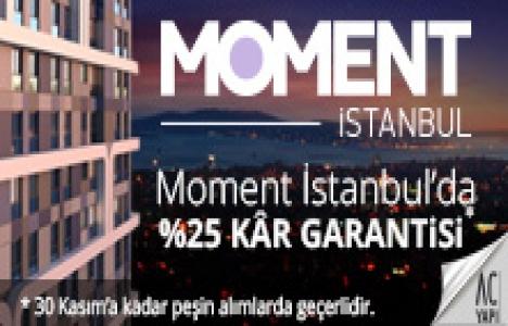 Moment İstanbul'da kar garantili kampanyada son gün 30 Kasım!