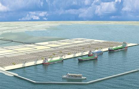 Çandarlı Limanı üst yapı ihalesi sonucu