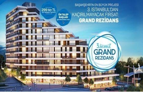 Başakşehir Grand Rezidans fiyatları!