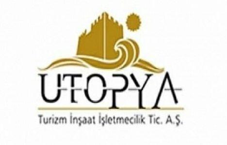 Ütopya Turizm İnşaat vergi beyannamesini yayınladı!