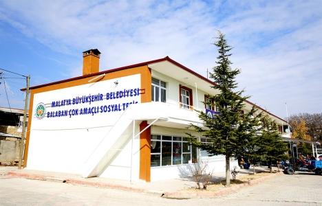 Malatya Balaban eski belediye binası sosyal tesis oldu!