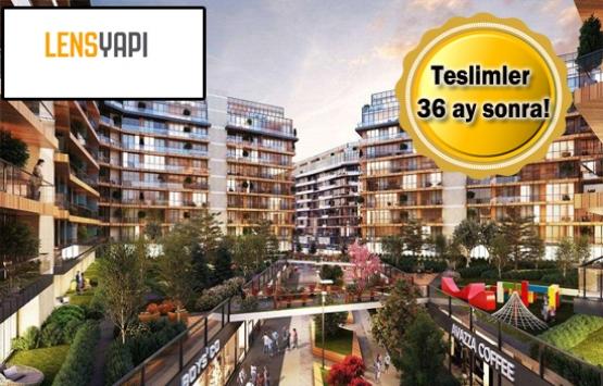Lens Yapı Ataşehir Modern projesi satışa çıktı!