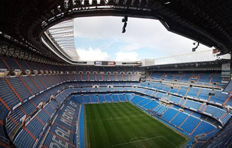 Real Madrid'in stadı