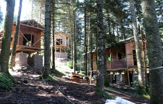 Gölcük Tabiat Parkı'na 25 orman köşkü inşa ediliyor!