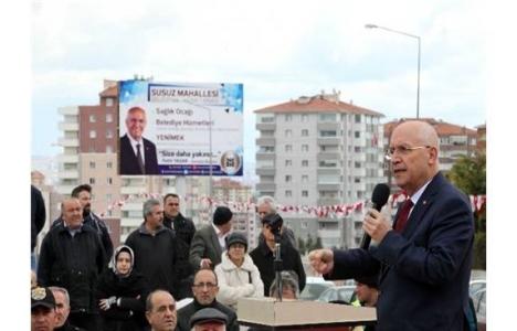 Ankara Yenimahalle'de sağlık ocağı, park ve semt birimi açıldı!