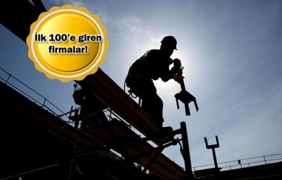 Dünyanın inşaatını Türkler