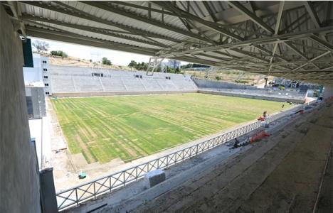 Nilüfer İbrahim Yazıcı Stadyumu'nda sona gelindi!