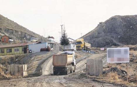 Ankara 1. OSB'deki 1.4 milyar dolarlık yatırıma taş ocağı engeli!