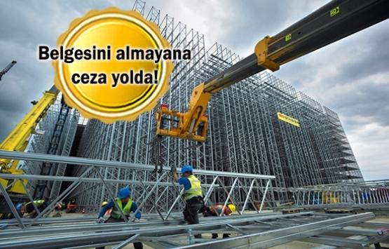 Emlakçılar ve inşaatçılar dikkat! Bugün son gün!