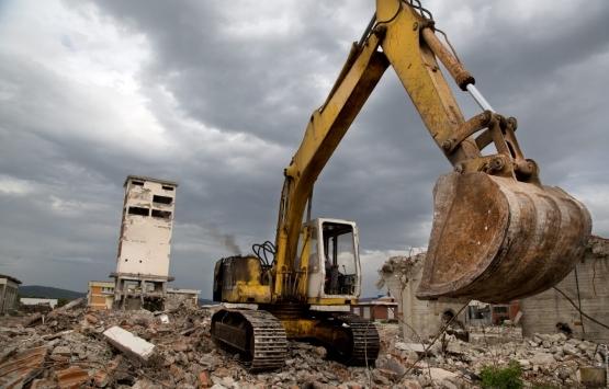 Kocaeli Cedit kentsel dönüşüm çalışmalarında yıkımlar başladı!