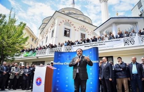 Maltepe Medine Cami ibadete açıldı!