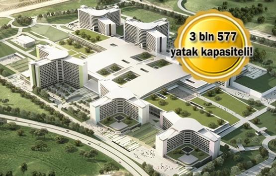 Etlik Şehir Hastanesi yıl sonunda hizmete açılacak!