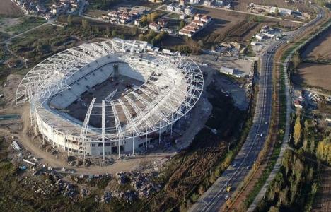 Sakaryaspor Stadı'nın yüzde