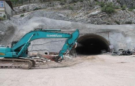 Amasya Ferhat Tüneli'nin