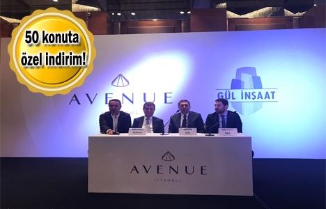 Avenue İstanbul'un lansmanı yapıldı! Metrekaresi 4 bin TL'ye!