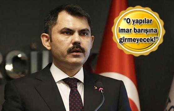 Bakan Murat Kurum'dan