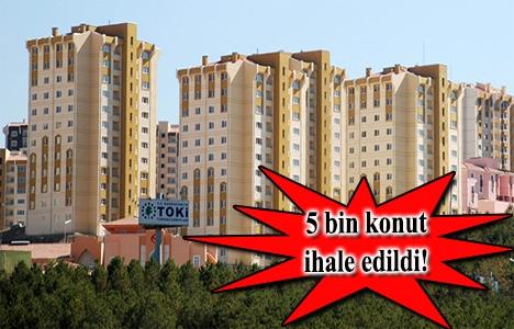 TOKİ'den İstanbul'a 1.500