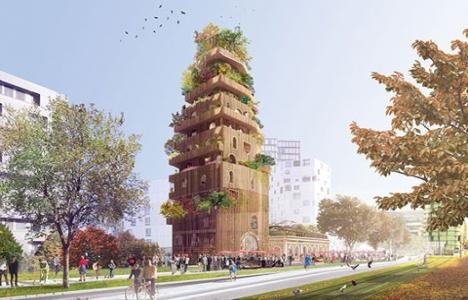 Paris için mimari