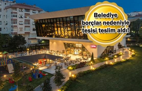 Beşiktaş'ın Levent'teki No:1903 tesisine borç darbesi!