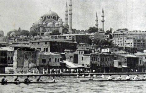 1985 yılında yarım asır sonra, Haliç'te ilk kürek yarışı yapılmış!