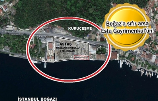 İBB, Boğaz'a sıfır arsasını 18.5 milyon TL'ye sattı!