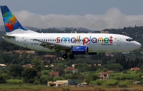 Alanya Small Planet'in uçaklarında tanıtılacak!