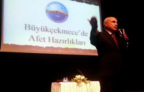 Hasan Akgün: Büyükçekmece'nin zemin etüdünü yeniden yaptık!