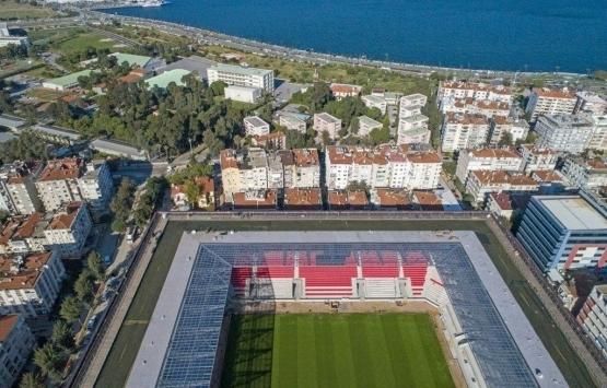 Göztepe Gürsel Aksel Stadı açılış için gün sayıyor!