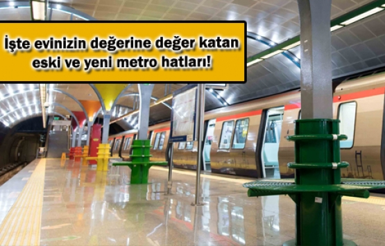 Geçmişten geleceğe İstanbul'un metro hatları!