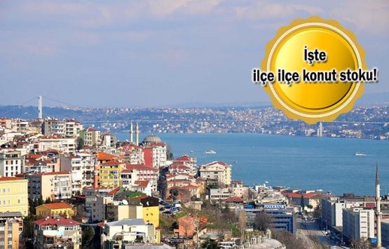 İstanbul'da 221 bin konut satılmayı bekliyor!