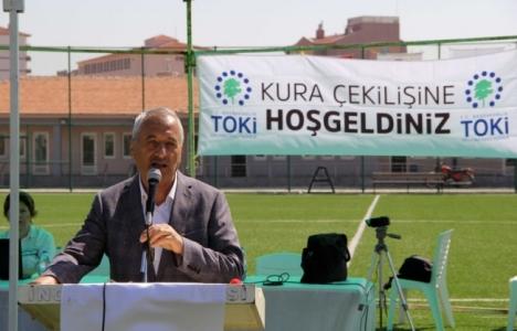 TOKİ Kayseri İncesu'da kuralar çekildi!
