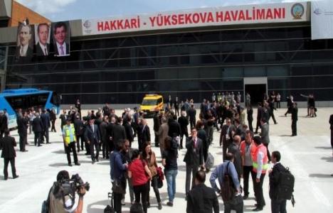 Hakkari Selahaddin Eyyubi Havalimanı açıldı!