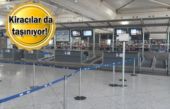 Atatürk Havalimanı'nda ofis ve mağazalar kapanmaya başladı!