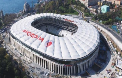 Vodafone Arena'nın açılışına