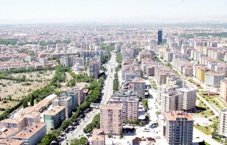 Konya'da konut satışları
