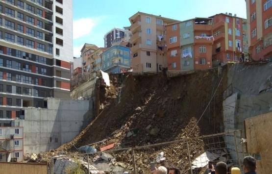Kağıthane'de çöken binada
