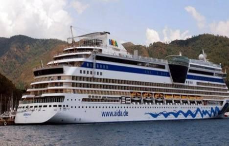 Aida Diva 2 bin yolcusuyla Marmaris'e sezonun ilk seferini gerçekleştirdi!